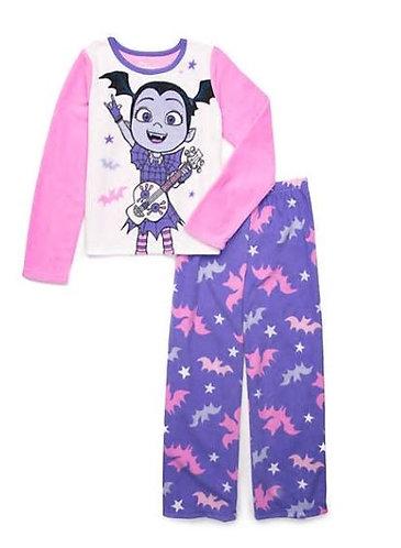Disney® Junior™ Girls Vampirina 2 Piece Fleece Pajama Set