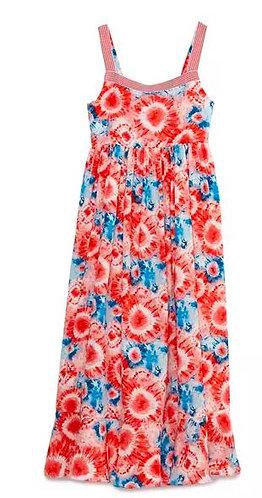 Tie Dye Sunflower Dress