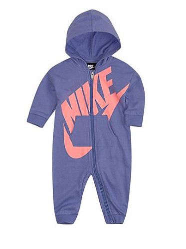 Nike Baby Girls Long Sleeve Jumpsuit