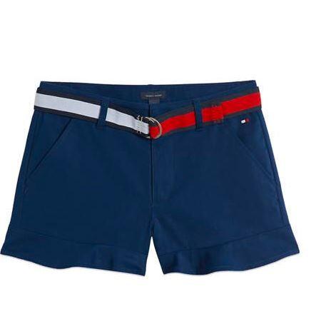 Tommy Hilfiger Ruffle Trim Shorts