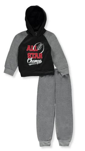 2-Piece Fleece Sweatsuit (Sizes 8, 10/12, 14)