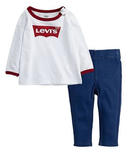 Levi's®  Toddler Girls Logo Legging Set
