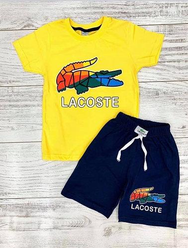 Boys Lacoste Short Set