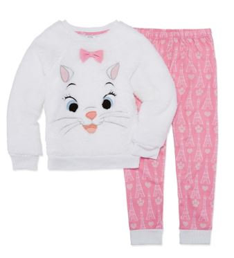 Disney 2-pc. Marie Pajama Set Girls