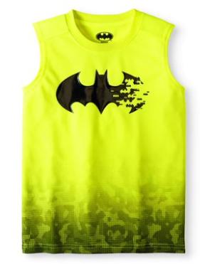 Boys' Batman Muscle Tank Top