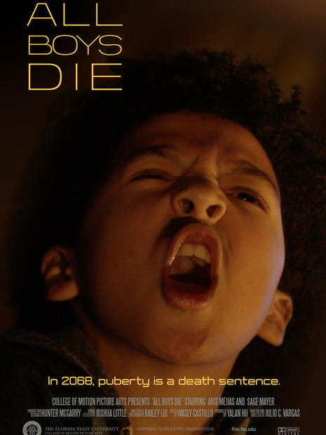 All Boys Die/ September 24th, 2020 Start Time 11:45 AM