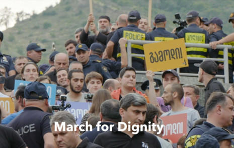 March for Dignity/ September 25th, 2020 Start Time 9:40 AM
