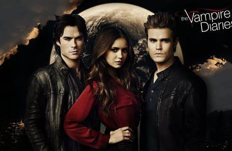 Vampire Diaries- I have watched it over and over again...
