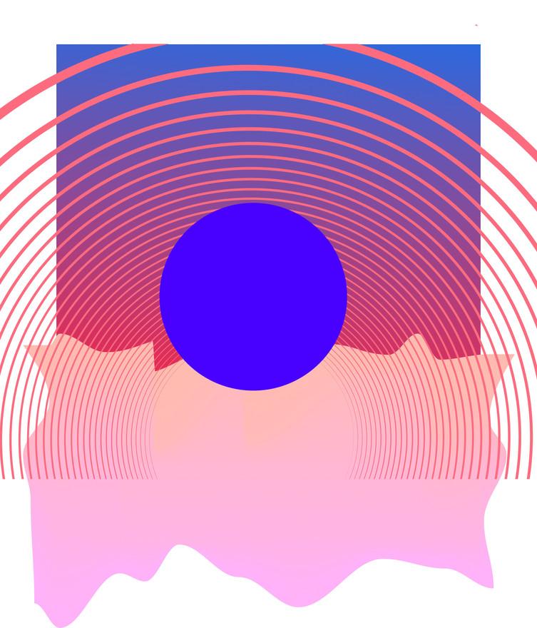 """""""Blue Sunset"""" by Kayla Kinsella Meier"""