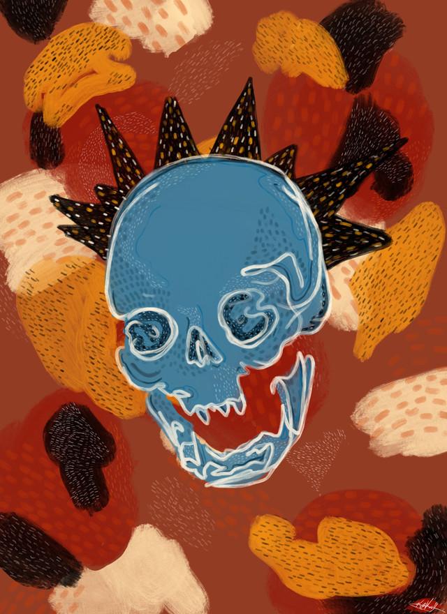 Skull Crown- Kayla Kinsella Meier