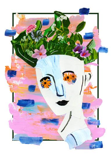 FlowerBoy, collage, 2019