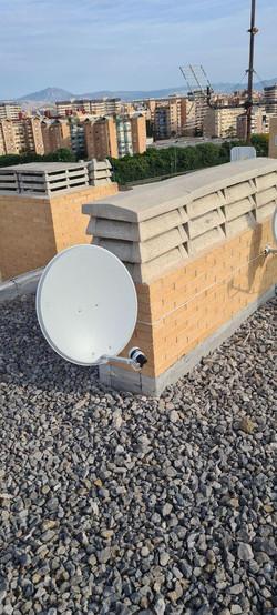 instalacion de antena prabolica astra 19