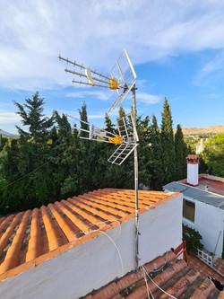 instalacion de antena televes en localid