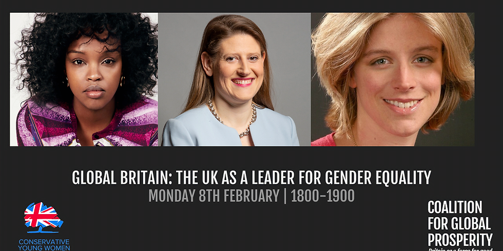 Global Britain: The UK as a leader for gender equality