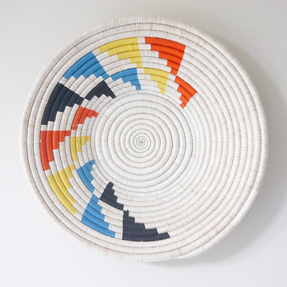 Inyabu Wall Basket - Multi colour