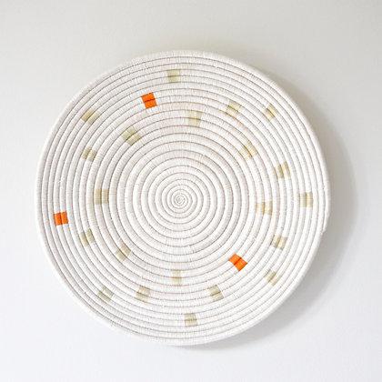 Ikiba Wall Basket - Orange