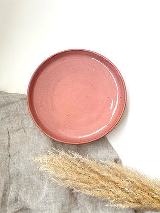 Pink Moon Serving Plate