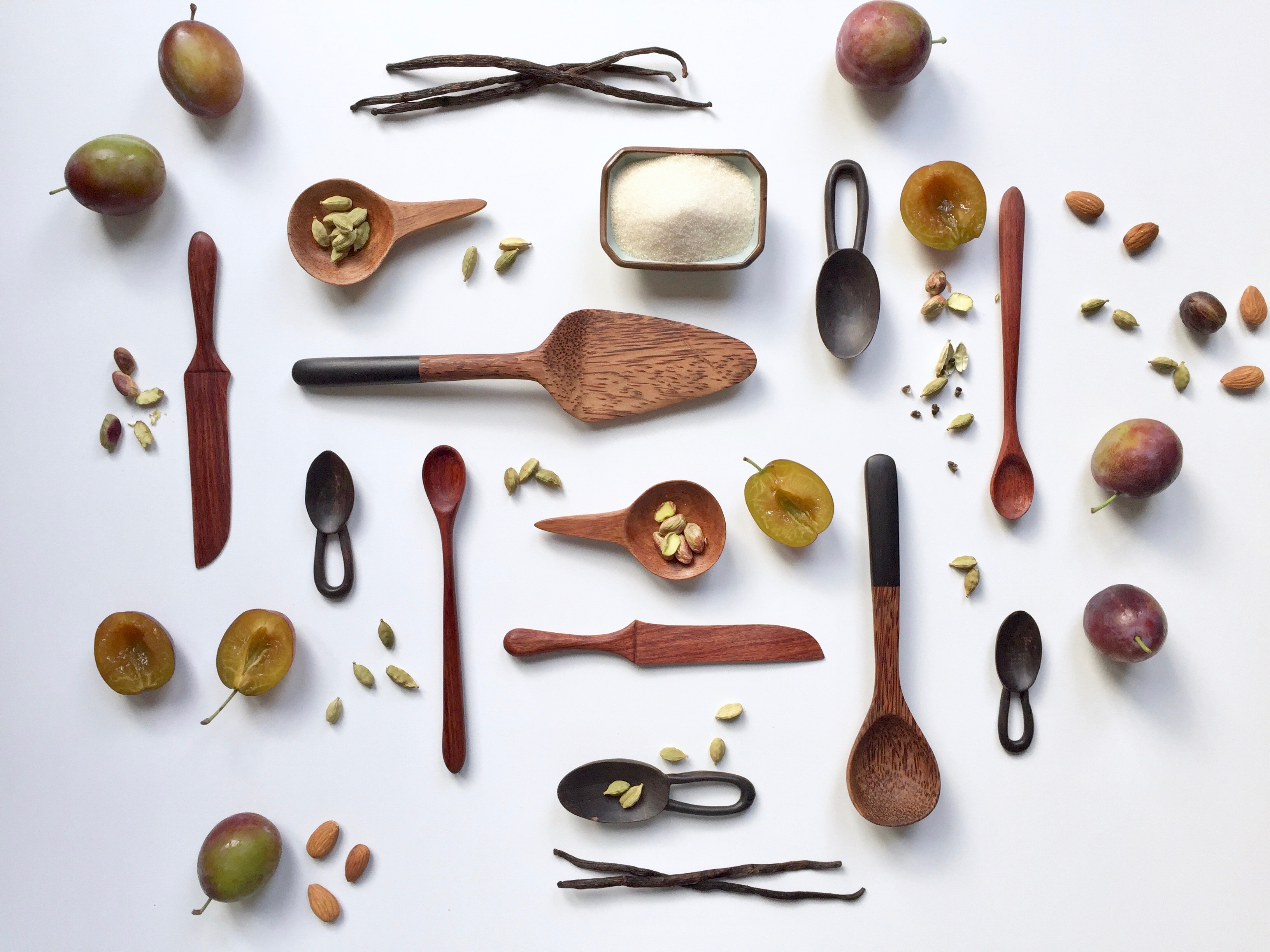 Handcarved Wooden Utensils