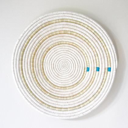 Uru Wall Basket - Blue