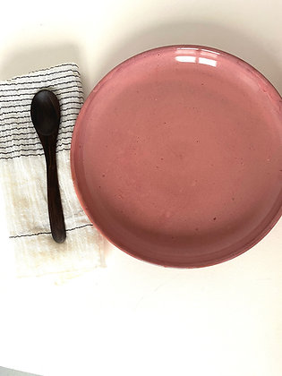 Rustic Pink Serving Plate
