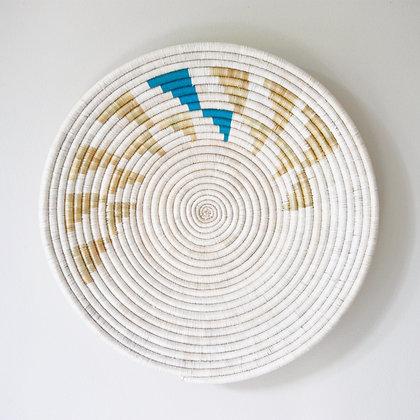 Inyabu Wall Basket - Blue