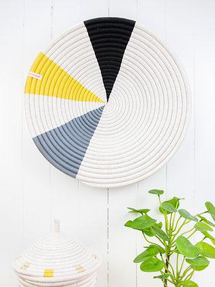 Wedge Design Wall Basket