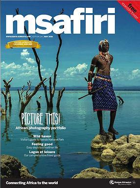 MSAFIRI MAGAZINE - KENYA AIRWAYS