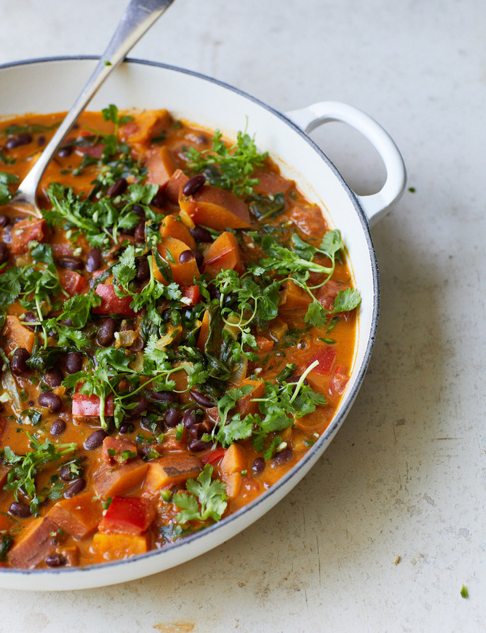 Melissa Hemsley shares her Kenyan Kidney Bean Coconut Curry (Barazi)