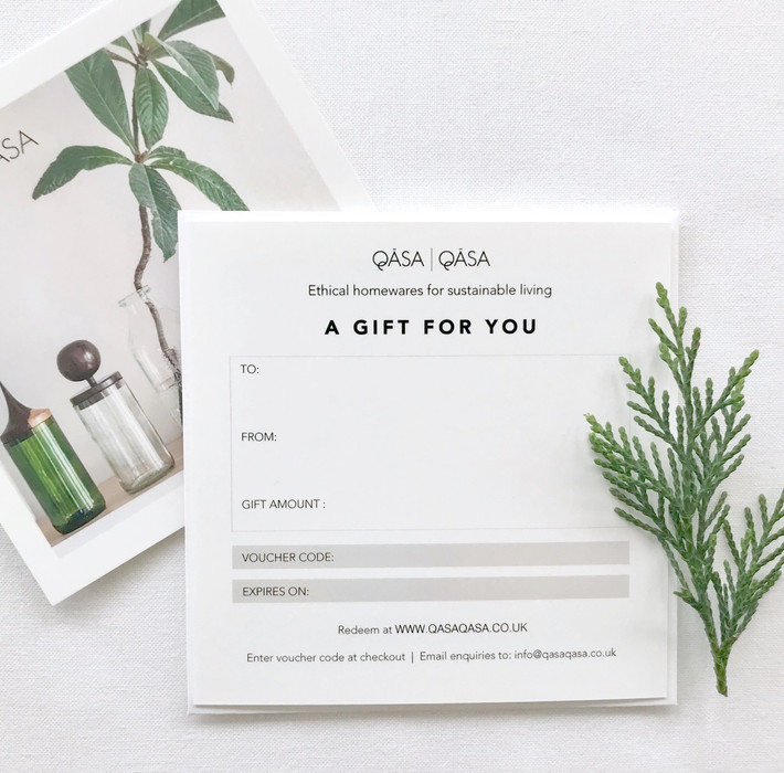 Less Waste : More Choice   Our New Gift Voucher Has Arrived