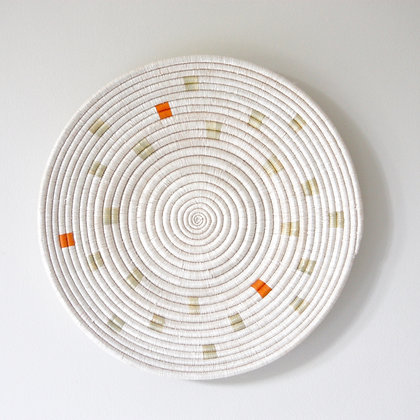 Ikiba Wall Basket - Orange / Black