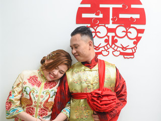 Anthony Hor + Yuki Ng Wedding Day 26May2018