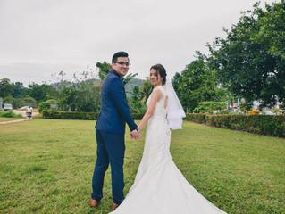 Teck Wee + Kah Lin Wedding Day 15June2018