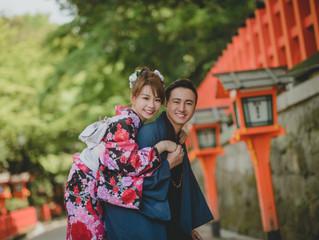 Calvin + Pinky Pre Wedding (Kyoto Pre Wedding)