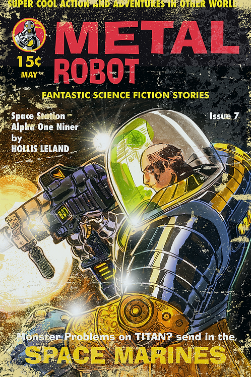 Space Marines by Ed Bickford