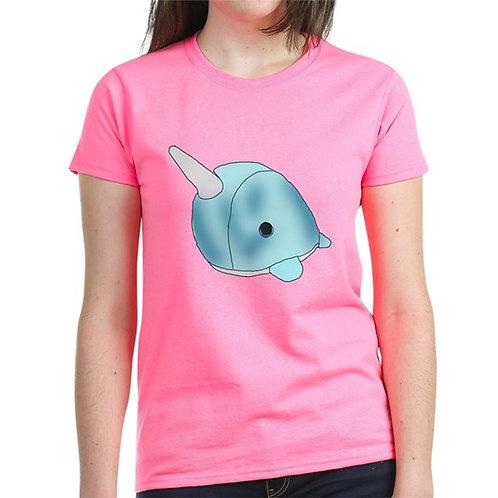 "Zoie M. Montoya's ""Uniwhale"" Girls T-Shirt"