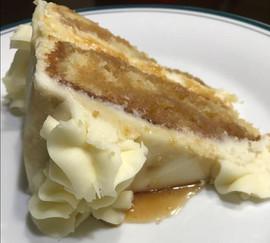 Honey Whiskey Vanilla Cake