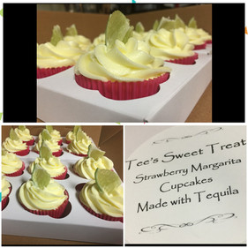 Key Lime Margarita Cupcakes