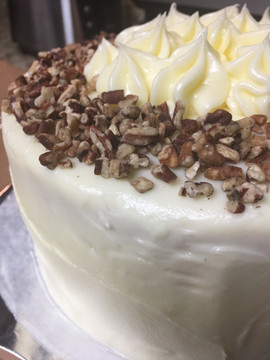 Carrot Cake with Walnuts