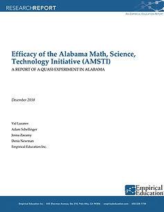 Document: Efficacy of the Alabama Math, Science, Technology Initiative (AMSTI)