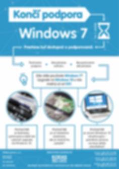 Windows 7 koniec podpory, upgrade na Windows 10