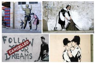 Is Banksy een Marketingspecialist?