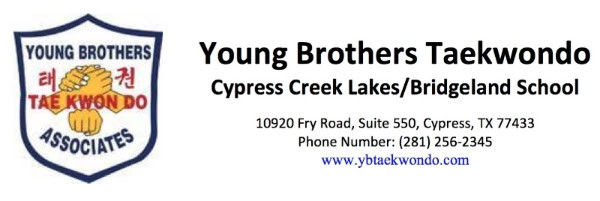 Young Brothers Logo with School Name, Addresss, Phone Number, and Website Address