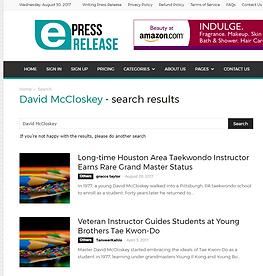e Press Release
