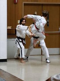 Flying Side Kick - Board Breaking