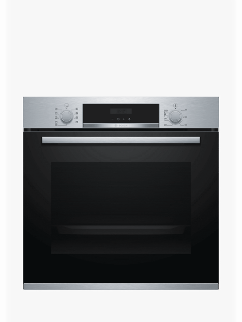 Bosch HBS534BS0B Built-In Single Oven, Stainless Steel
