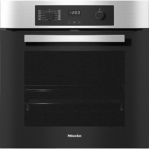 Miele H2267-1BP CleanSteel Single Built In Electric Oven