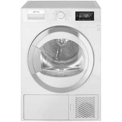 Smeg DRF81AUK Freestanding A+ Rated Condenser Tumble Dryer, White