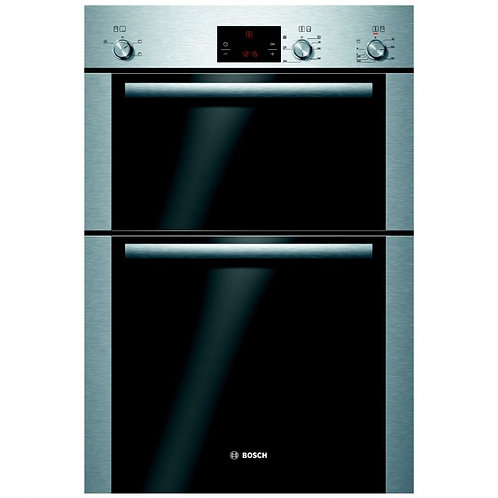 Bosch HBM13B251B stainless steel Serie 6 electric eye level double oven