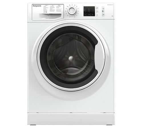 HOTPOINT NM10 844 WW UK 8 kg 1400 Spin Washing Machine - White