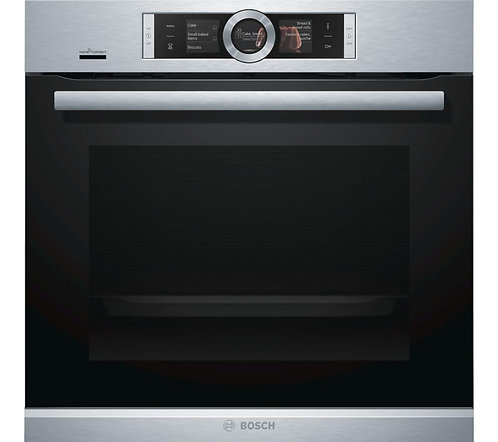 Bosch HBG6764S6B stainless steel Serie 8 pyrolitic single oven